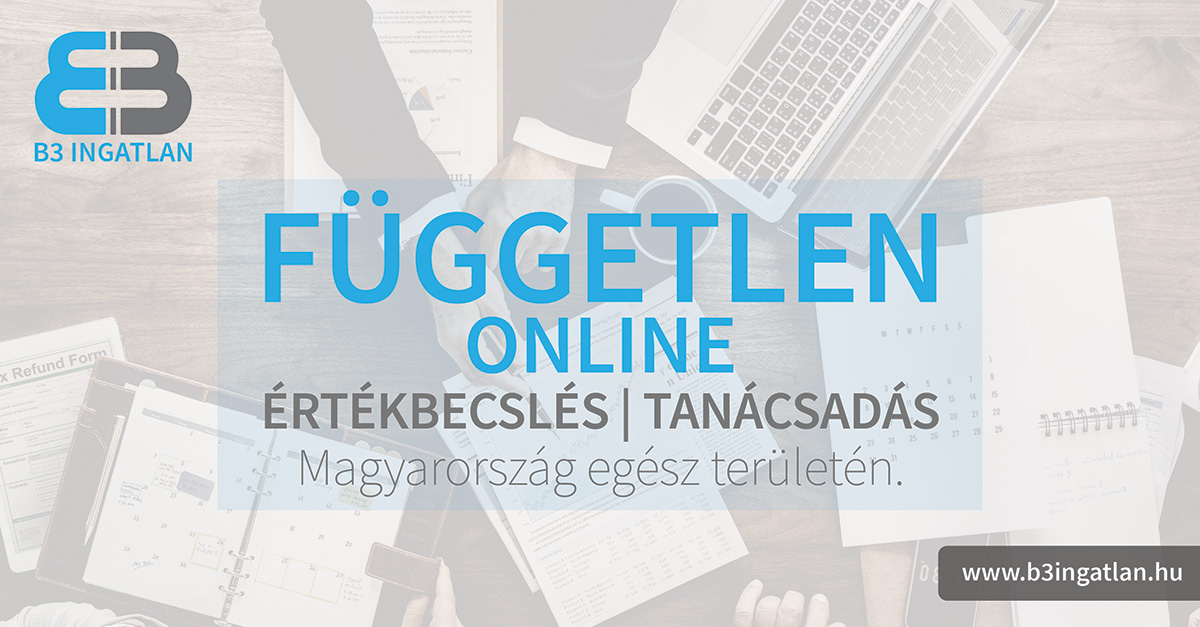 Online ingatlan értékbecslés és tanácsadás